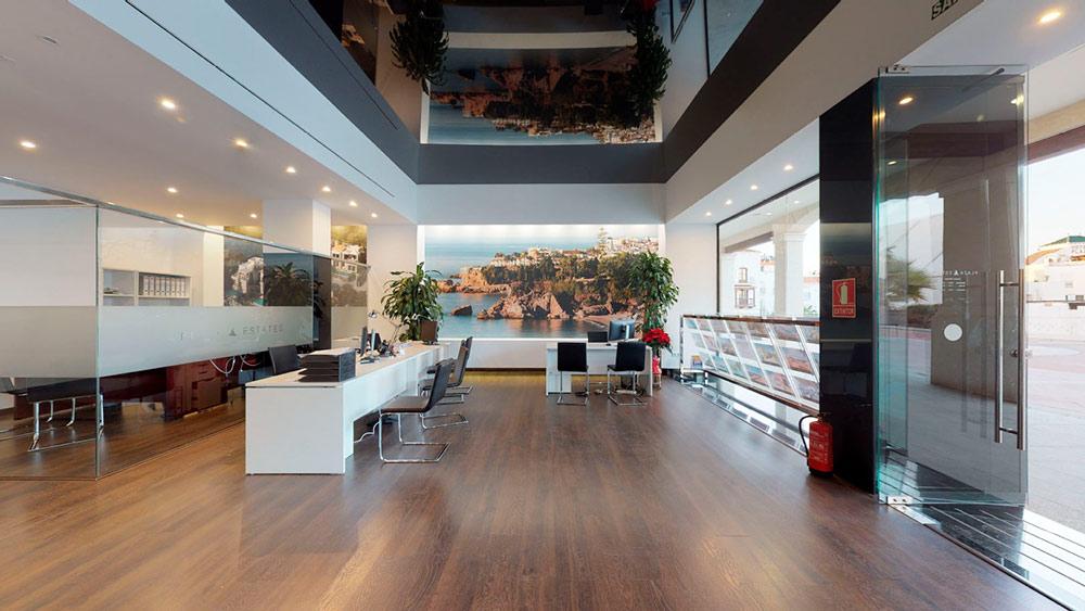 Agencia inmobiliaria en Nerja, Plaza Estates