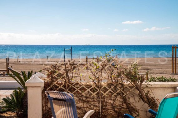 Front line beach apartment for sale in Torrox Costa